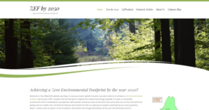 Environmentalist WordPress Website
