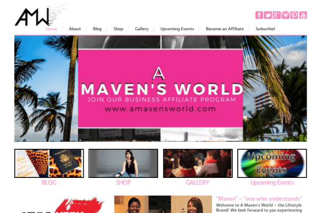 Fashion Business WordPress Website