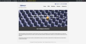 Tech Sales Company WordPress Website