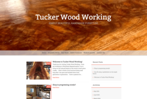 craft business wordpress website