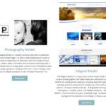 Multi-Page Website with Major Photo, Text Customization, Contact Forms and Additional Pages