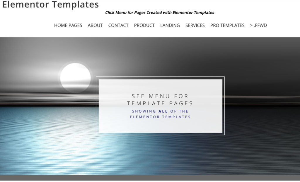 Free and Pro Elementor Templates For WordPress Websites