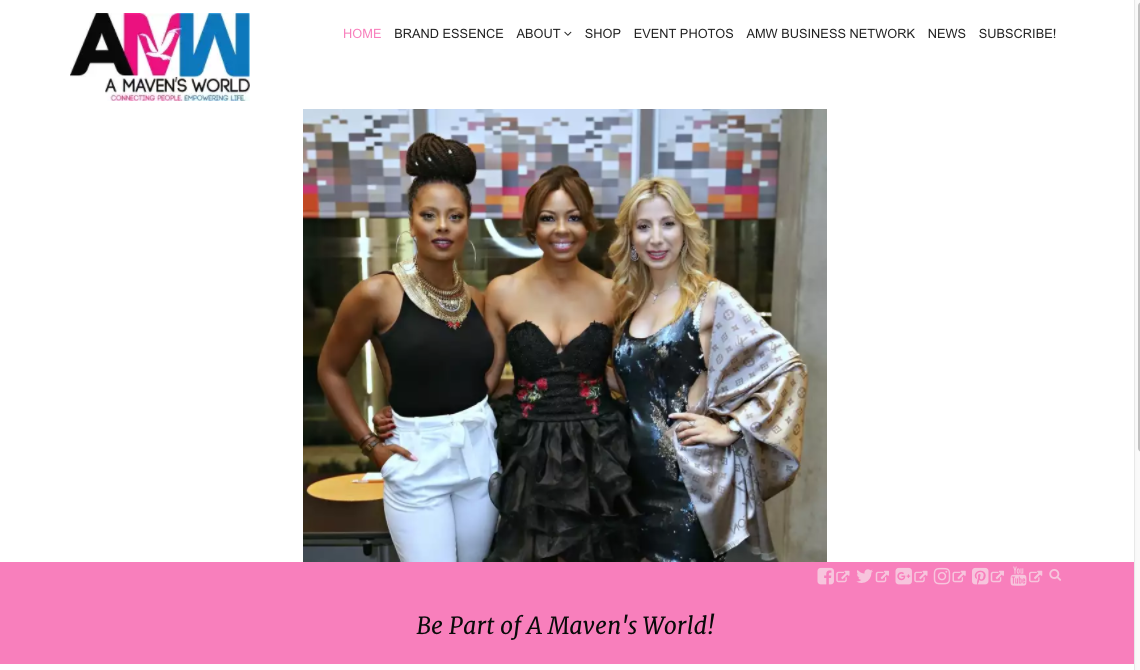 Customization of Pretty in Pink WordPress Model Goes Live
