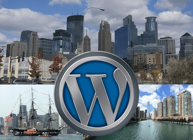 WordPress Freelance Developers minneapolis st.paul boston chicago cityscapes