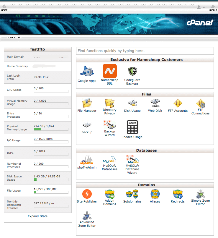 cPanel For WordPress Installation on Shared Host
