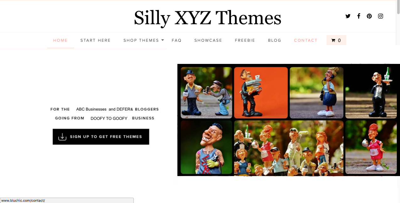 WordPress Crappy and Silly Themes