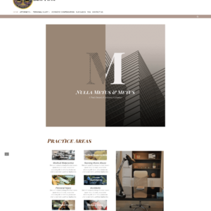 elementor law firm website
