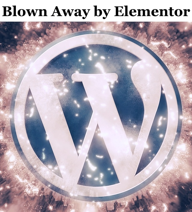 wordpress themes blown away by elementor