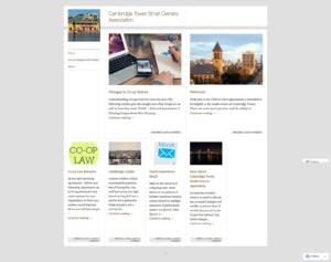 Homeowners Association WordPress Website