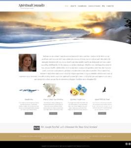 Spiritualist WordPress Website