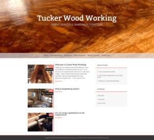 craft business wordpress website