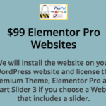 Elementor Pro Pre Built WordPress Websites