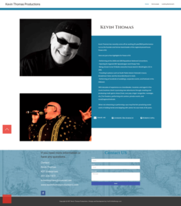 Band Booking Elementor Multiple Single Band Page Website