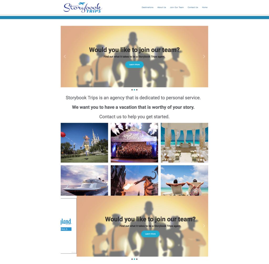 Travel Agency Elementor Website