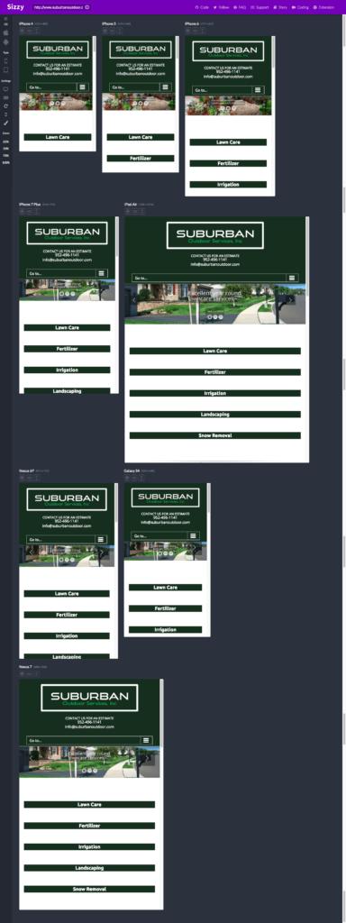 suburban outdoor mobile avada website