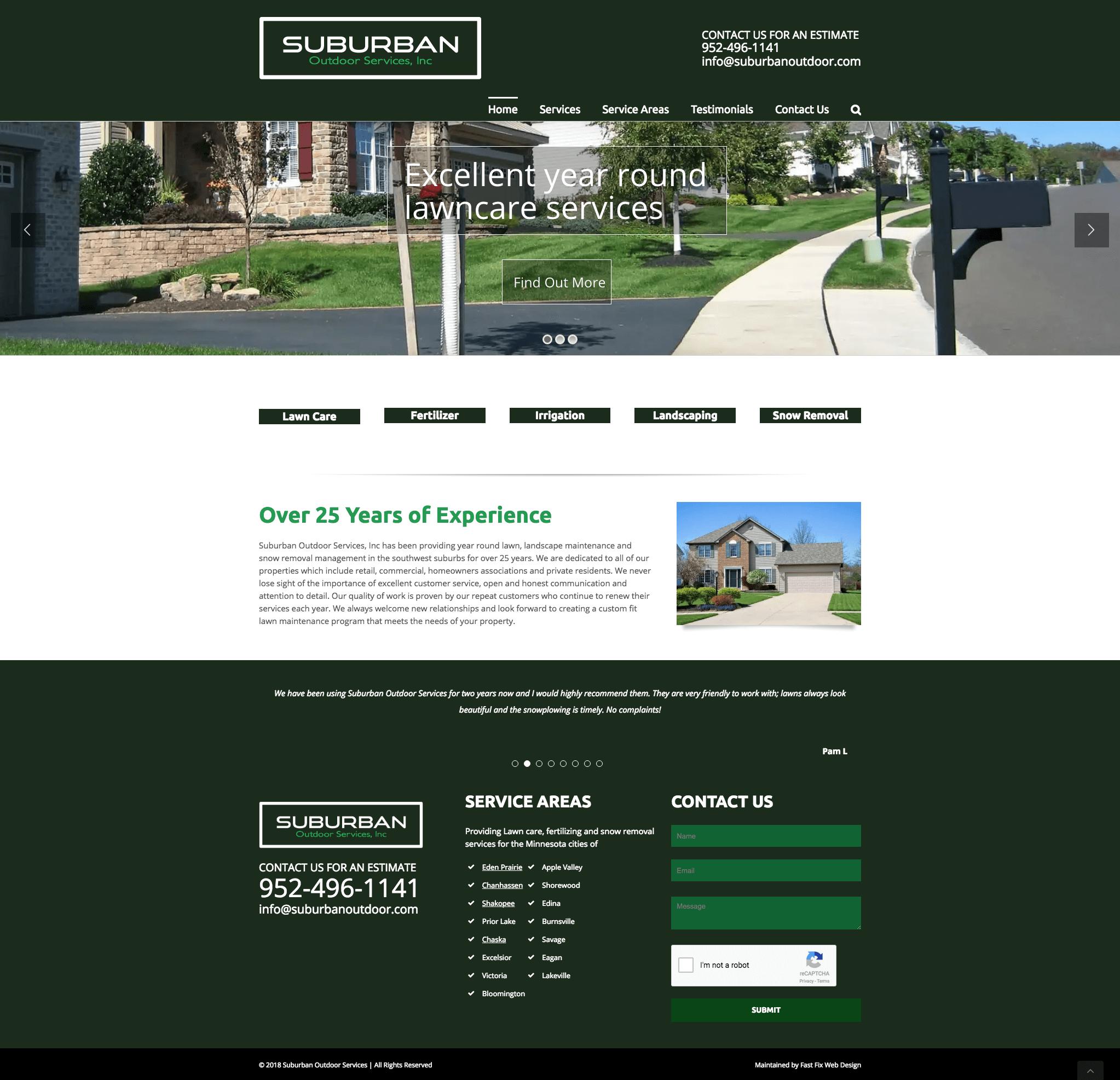 suburbanoutdoor avada website update