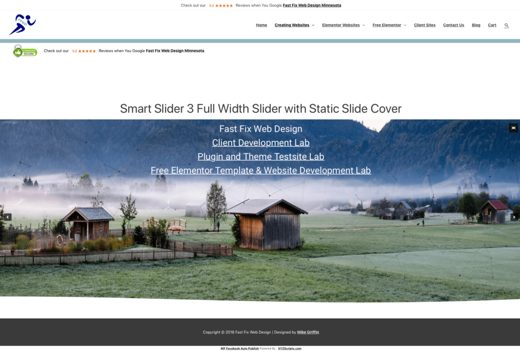 smart slider 3 blank page fixed