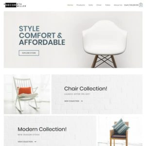 elementor furniture store
