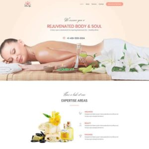 elementor spa website