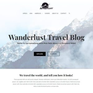 elementor travel blog