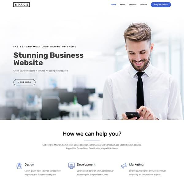 elementor wordpress design and development